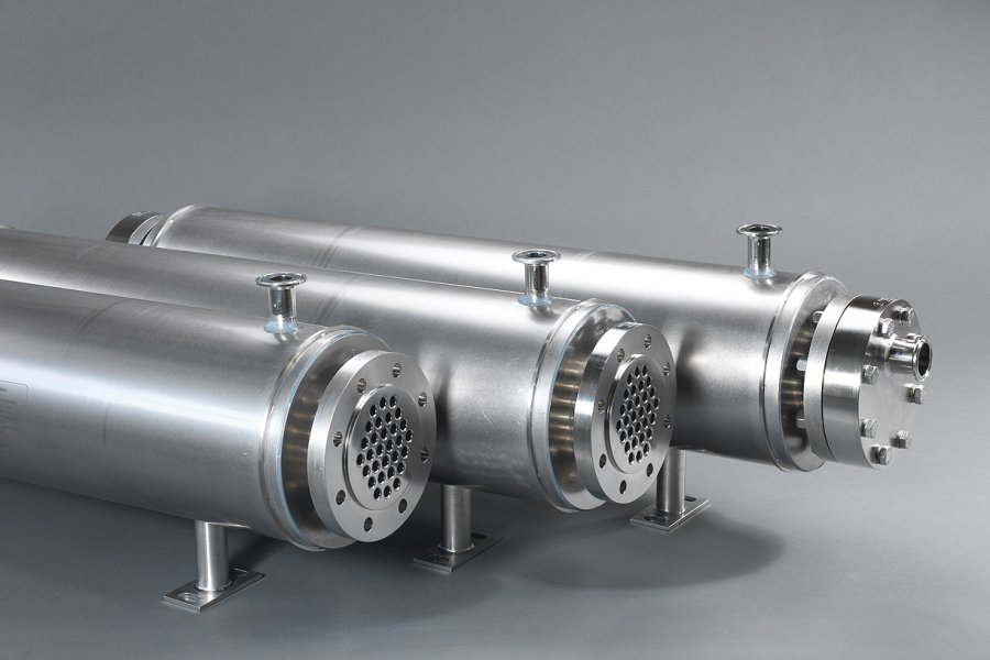 Fluitec sterile heat exchanger
